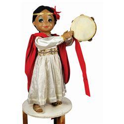 It's a Small World Animatronic Doll.