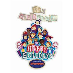It's a Small World Holiday Sign.