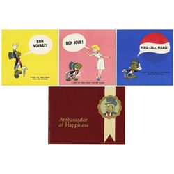 Collection of (4) Small World Cast Member Guides.