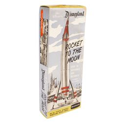 Rocket to the Moon Model in Box.