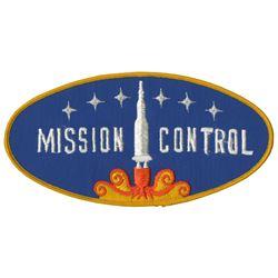 Mission to Mars Animatronic Figure Patch.