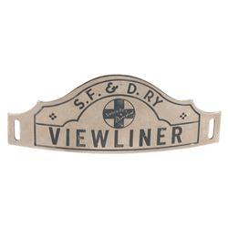 Viewliner Cast Member Cap Badge.