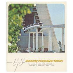 """Community Transportation Services"" Book."