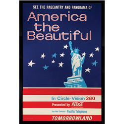 America the Beautiful Attraction Poster.