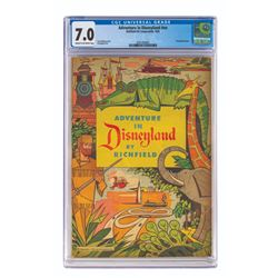 Adventure in Disneyland by Richfield Comic Book.