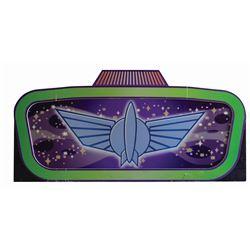 Buzz Lightyear Astro Blasters Sign.