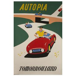 Autopia Attraction Poster.
