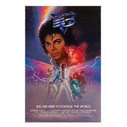 Captain EO Premiere Poster.