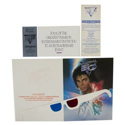 Captain EO Press Kit.