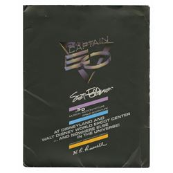 Captain EO Premiere Signed Press Kit.