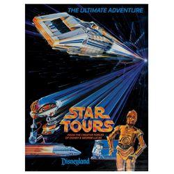 Star Tours Souvenir Poster.