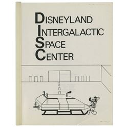 Disneyland Intergalactic Space Center Proposal.