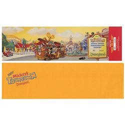 Toontown Commemorative Passport.