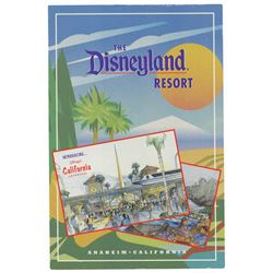 """The Disneyland Resort"" Opening Brochure."