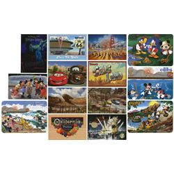Collection of (37) California Adventure Postcards.