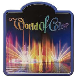 World of Color Sign.
