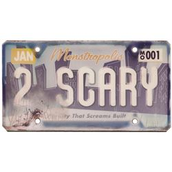 Monsters, Inc. License Plate Attraction Prop.