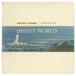 """Project Florida - A Whole New Disney World"" Book."