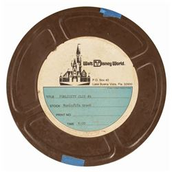 Walt Disney World Publicity Film Reel.