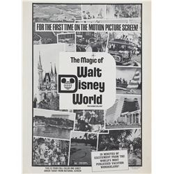 The Magic of Walt Disney World Press Book.