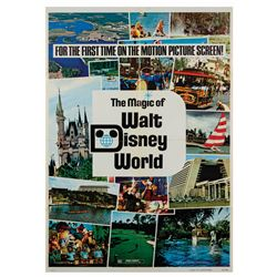 The Magic of Walt Disney World One-Sheet Poster.
