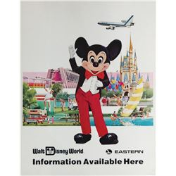 Eastern Air Lines Walt Disney World Travel Poster.