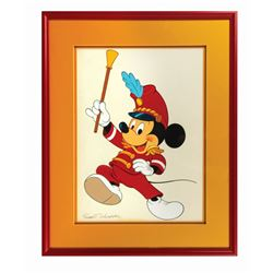 Band Leader Mickey Mouse Original Painting.