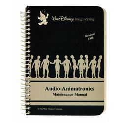 WDI Audio-Animatronics Maintenance Manual.