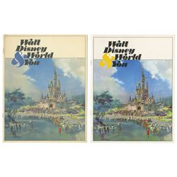 "Pair of ""Walt Disney World and You"" Cast Member Booklets."