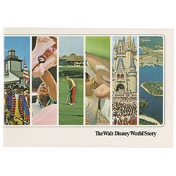 """The Walt Disney World Story"" Booklet."