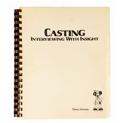 """Casting: Interviewing with Insight"" Manual."