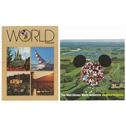 Pair of Walt Disney World Booklets.