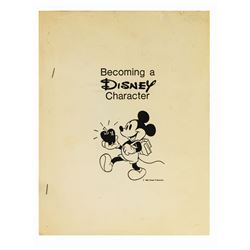 """Becoming a Disney Character"" Cast Member Manual."