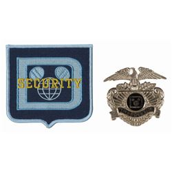 Walt Disney World Security Badge & Patch.
