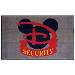 Walt Disney World Security Floor Mat.