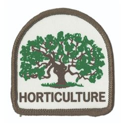Walt Disney World Horticulture Department Patch.