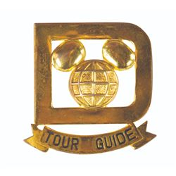 Walt Disney World Tour Guide Pin.