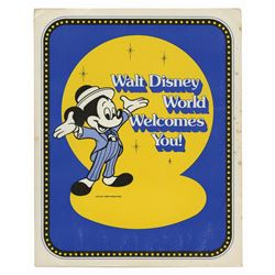 """Walt Disney World Welcomes You"" Packet."