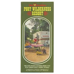 Fort Wilderness Resort Brochure.