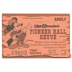 Pair of Pioneer Hall Revue Tickets.