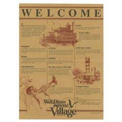 Walt Disney World Village Directory.