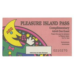 Pleasure Island Complimentary Pass.