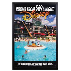 All-Star Sports Resort Travel Poster.