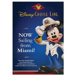 Captain Mickey Disney Cruise Line Poster.