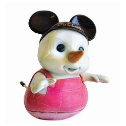 """""""Button"""" Blizzard Beach Snowman Prop."""