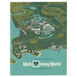 """A Complete Edition About Walt Disney World"" Booklet."