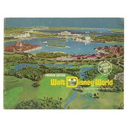 Walt Disney World Preview Booklet.