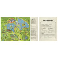 """Welcome to Walt Disney World"" Map & Guide Brochure."