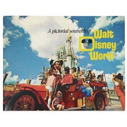 """A Pictorial Souvenir of Walt Disney World"" Guidebook."