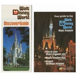 Pair of Walt Disney World Guides.
